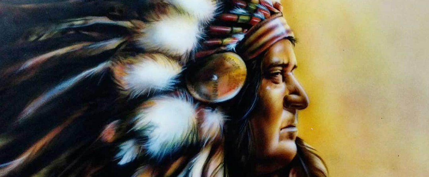 Индеец OldRocketGarage