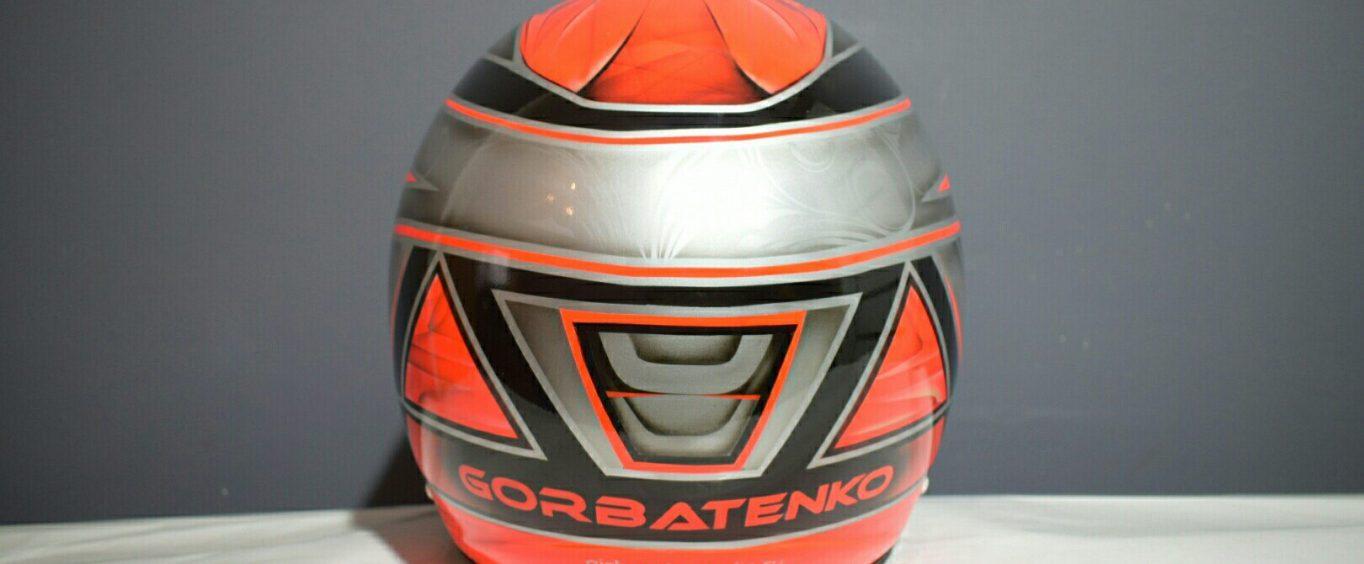Картинговый шлем